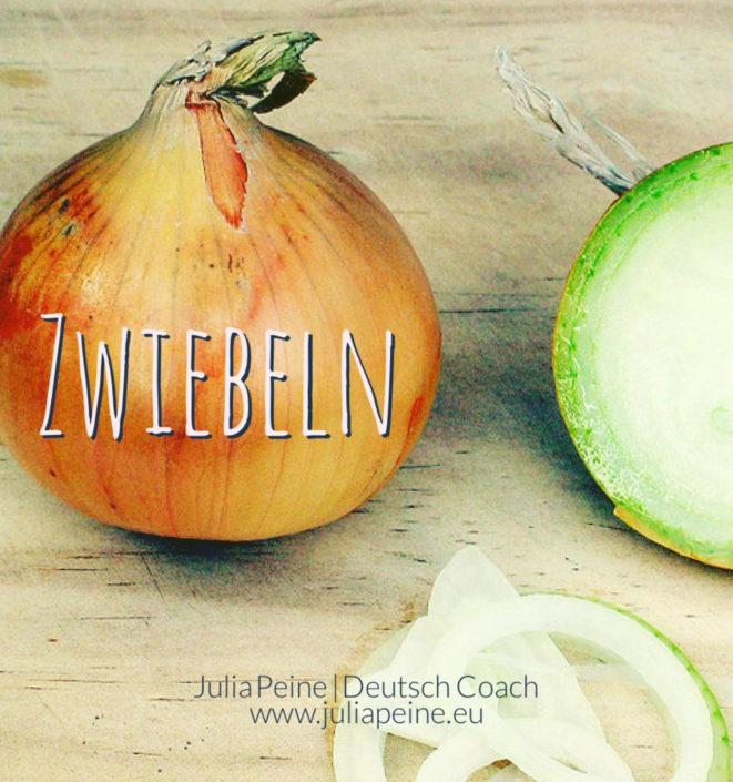 Zwiebeln | De mooiste Duitse woorden | Julia Peine Deutsch Coach | Utrecht | Leidsche Rijn
