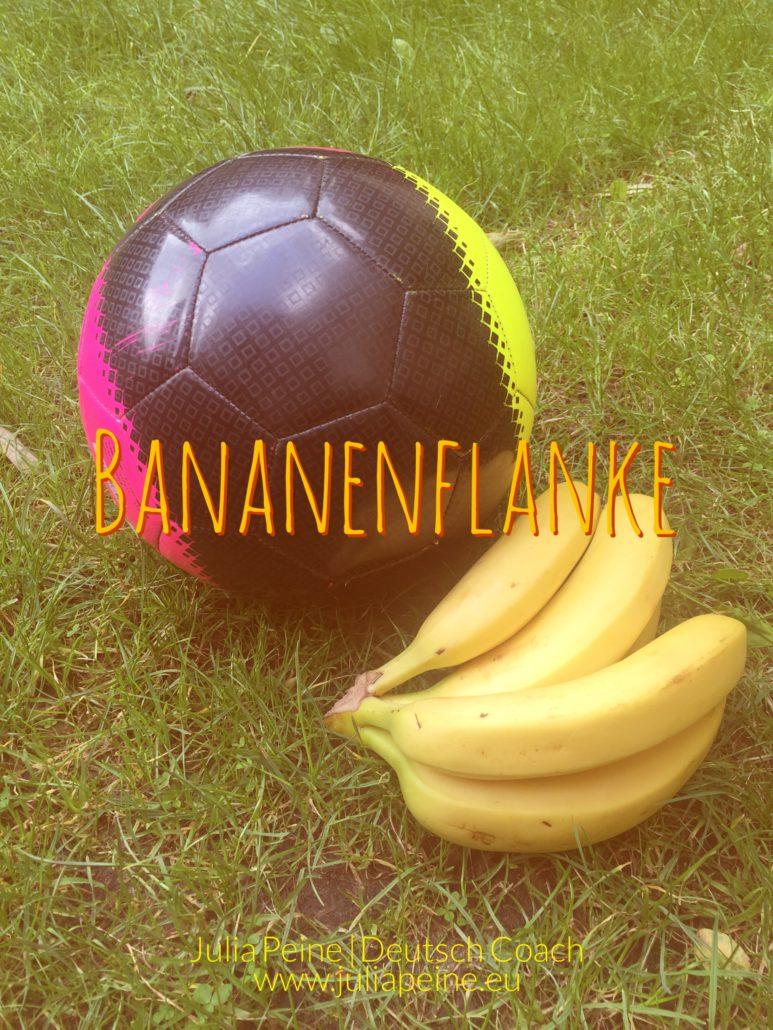 Bananenflanke | De mooiste Duitse woorden | Julia Peine Deutsch Coach | Utrecht | Leidsche Rijn
