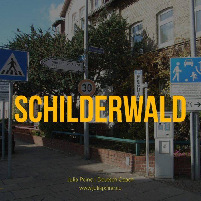 Schilderwald | De mooiste Duitse woorden | Julia Peine Deutsch Coach | Utrecht | Leidsche Rijn