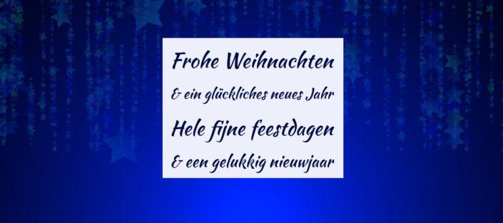 Frohe Weihnachten und ein glückliches neues Jahr | Julia Peine Deutsch Coach | Utrecht | Leidsche Rijn