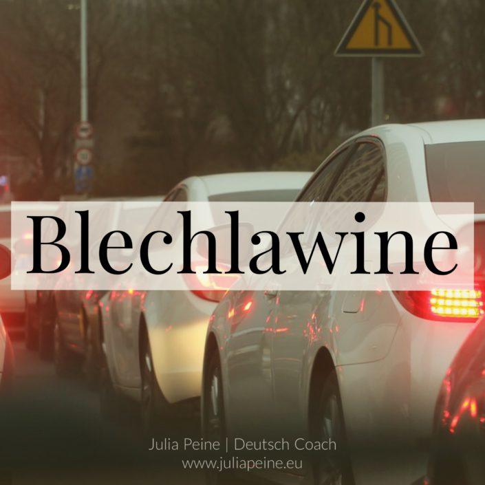 Blechlawine | De mooiste Duitse woorden | Julia Peine Deutsch Coach | Utrecht | Leidsche Rijn