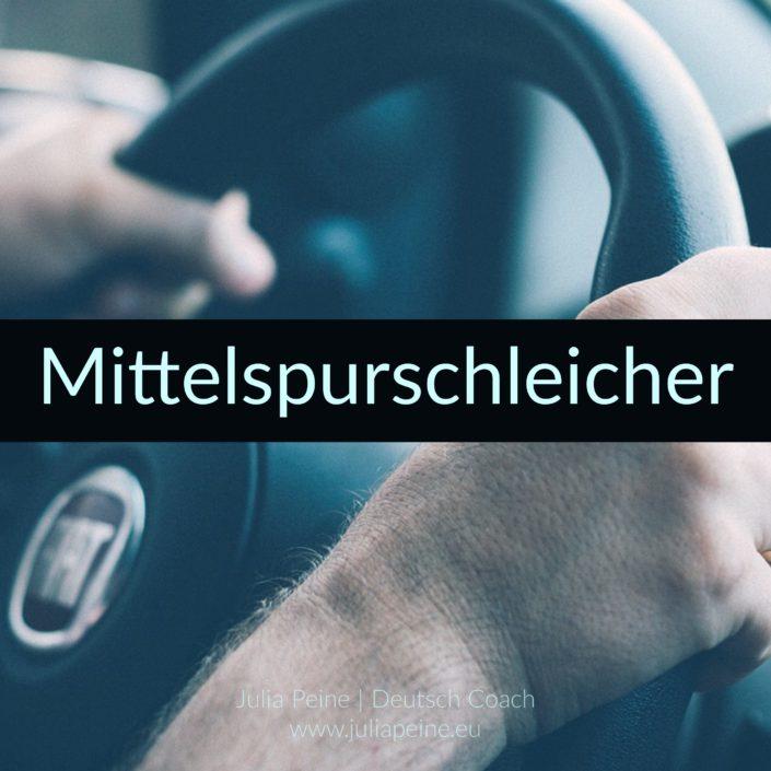 Mittelspurschleicher | De mooiste Duitse woorden | Julia Peine Deutsch Coach | Utrecht | Leidsche Rijn