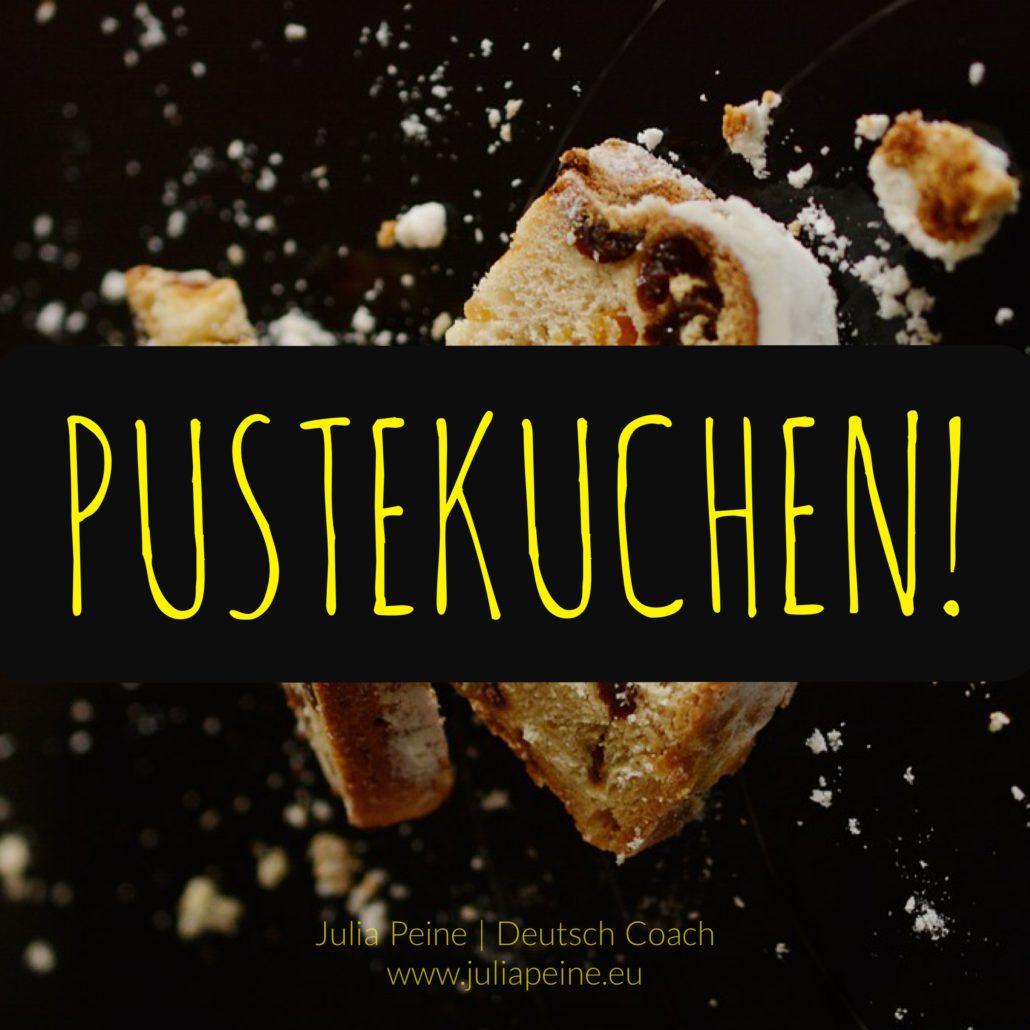 Pustekuchen! | De mooiste Duitse woorden | Julia Peine Deutsch Coach | Utrecht | Leidsche Rijn