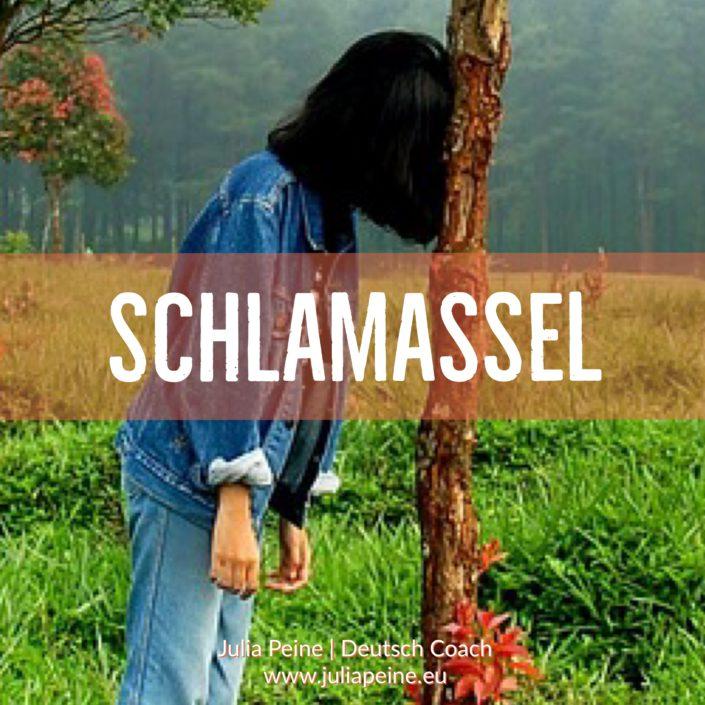 Schlamassel | De mooiste Duitse woorden | Julia Peine Deutsch Coach | Utrecht | Leidsche Rijn