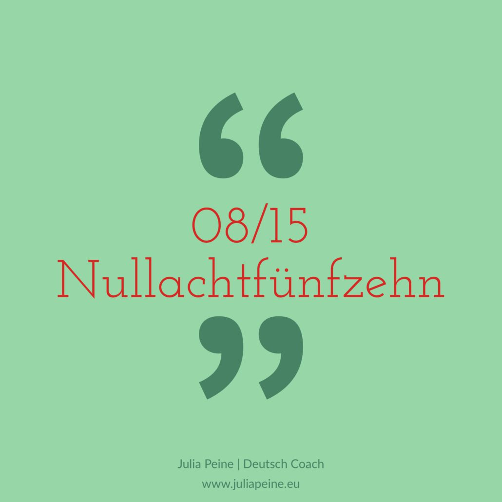 08/15 | De mooiste Duitse woorden | Julia Peine Deutsch Coach | Utrecht | Leidsche Rijn