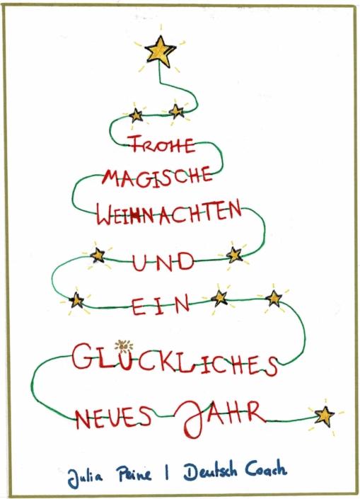 Frohe Weihnachten | Deutsch Coach | Utrecht | Leidsche Rijn